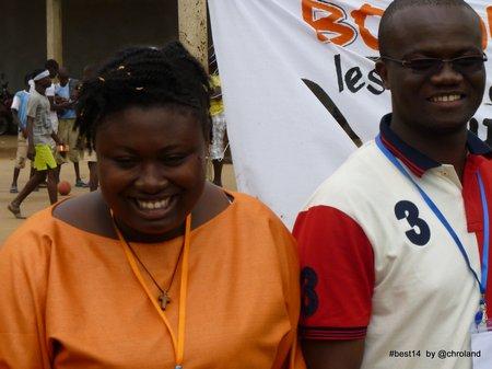 meliane Kunny et Wilfried Nguessan